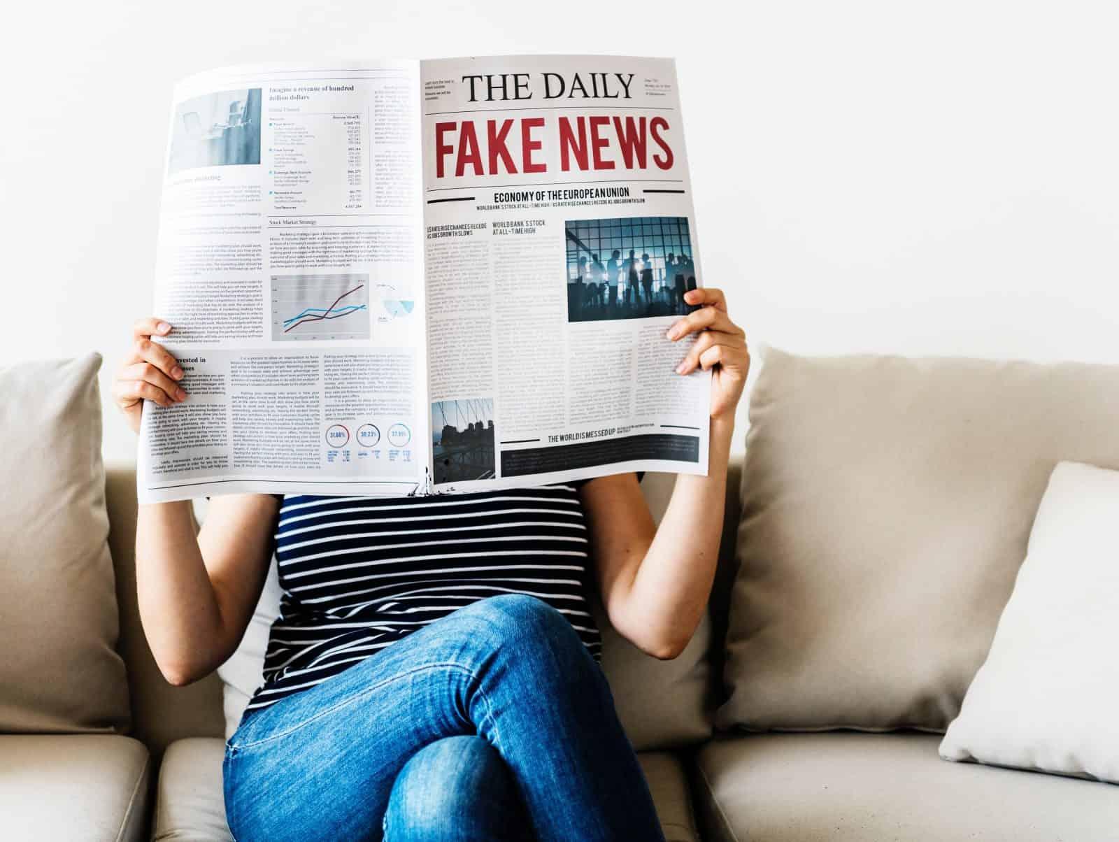 newspaper fake news