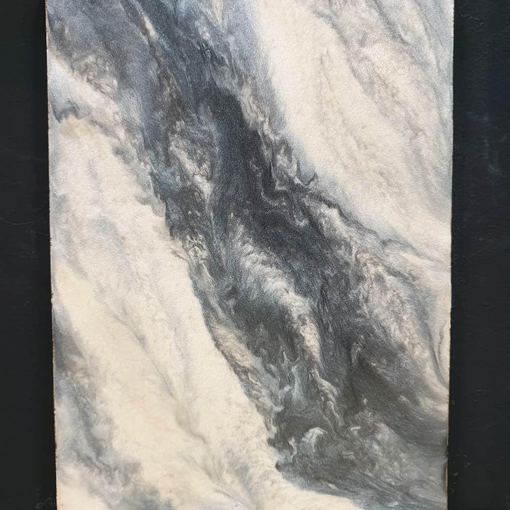 Metallic Epoxy Marble Design