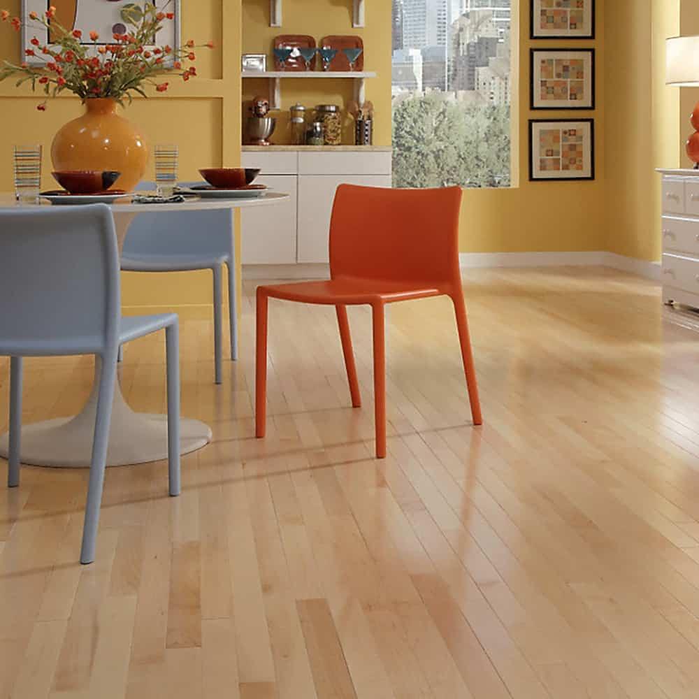 maple wood floor kitchen