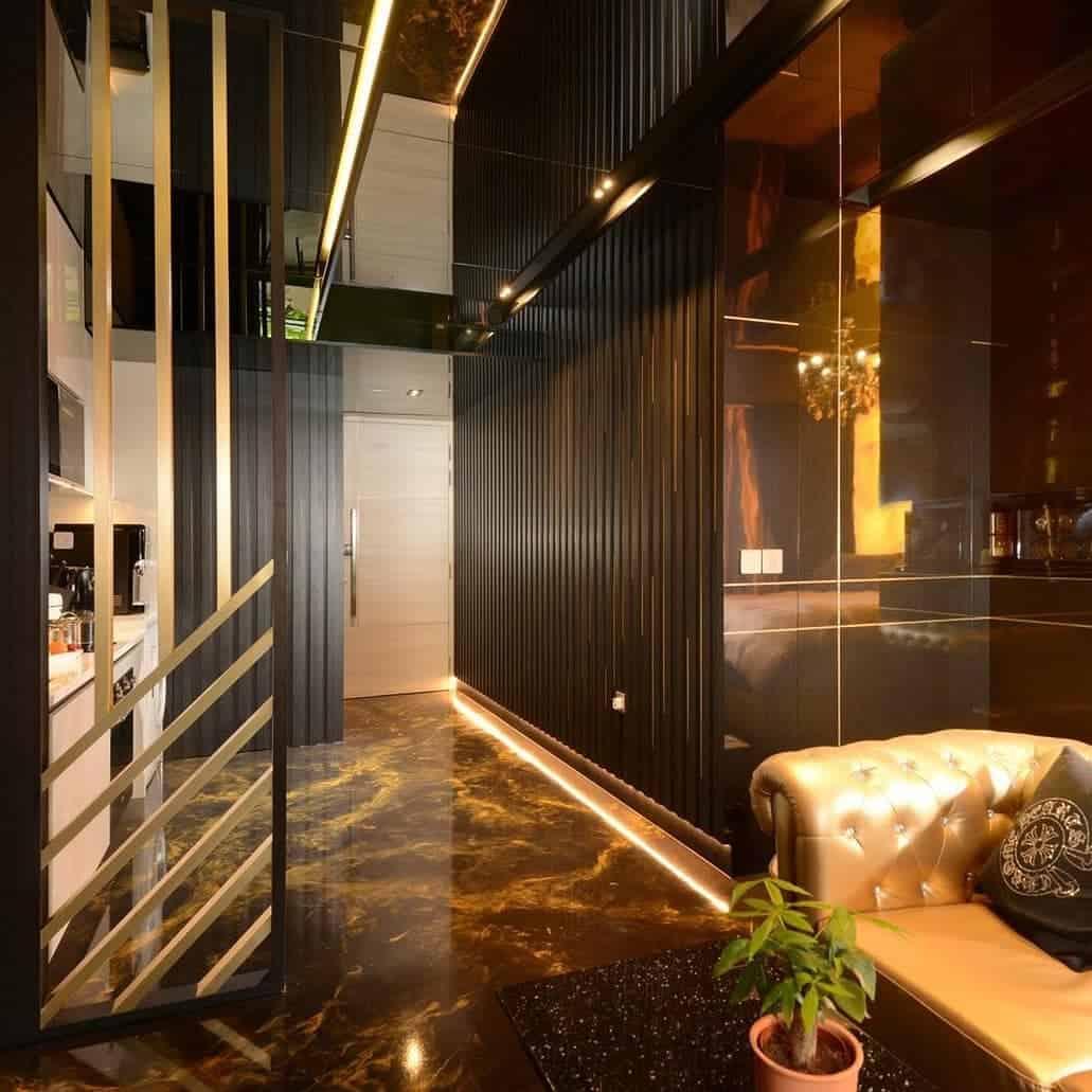 Metallic Epoxy luxury home flooring