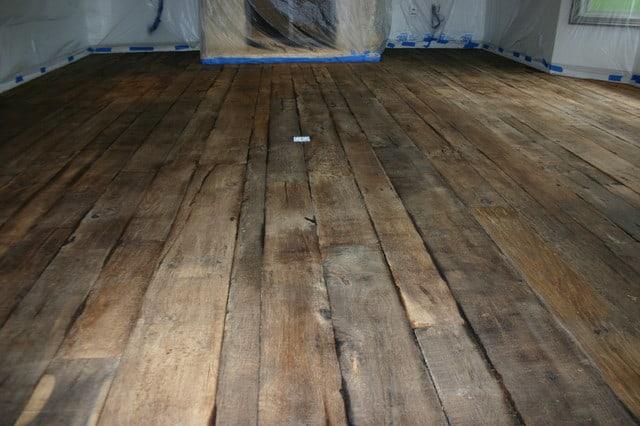 old aged wood floor