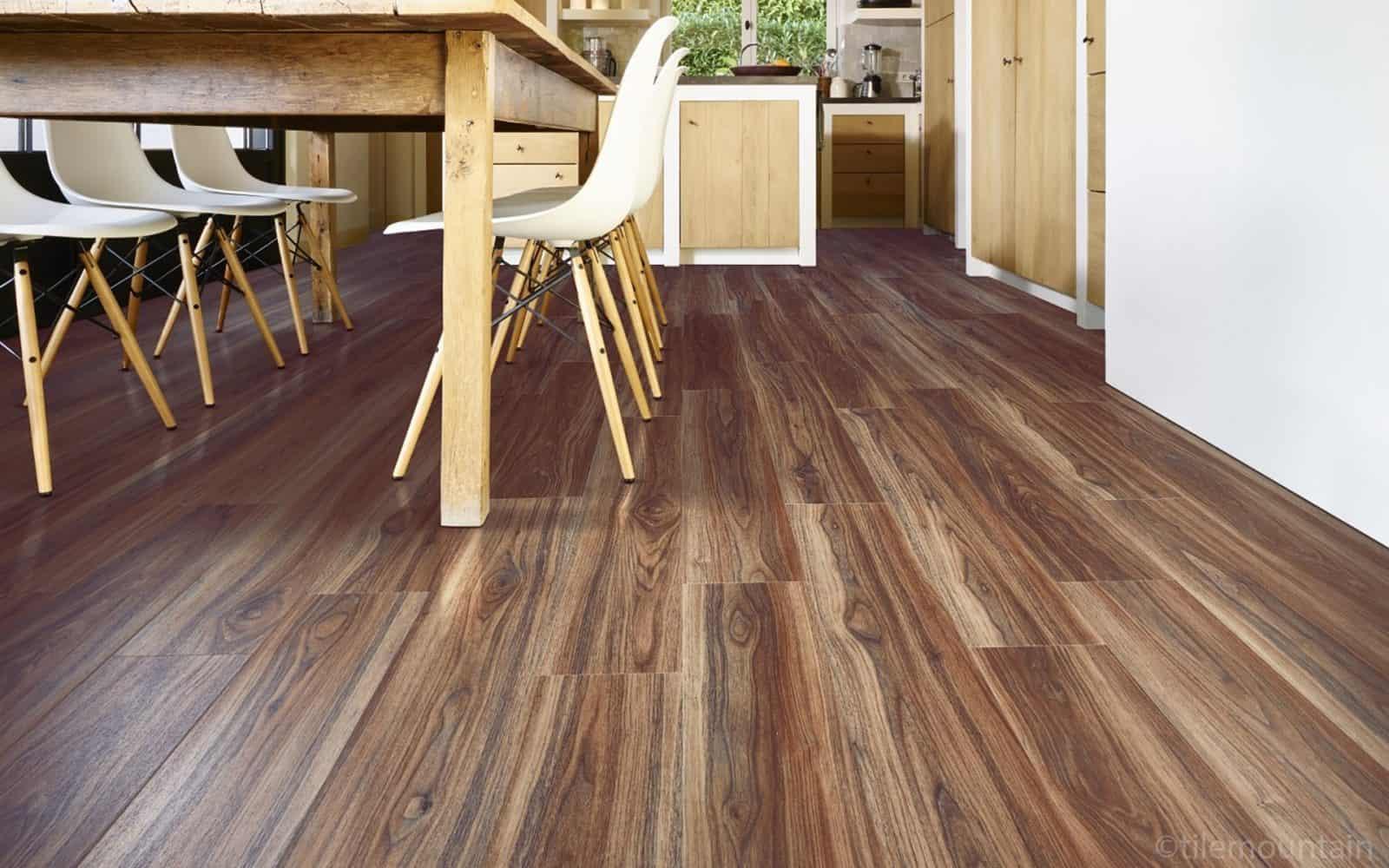 vinyl floor kitchen